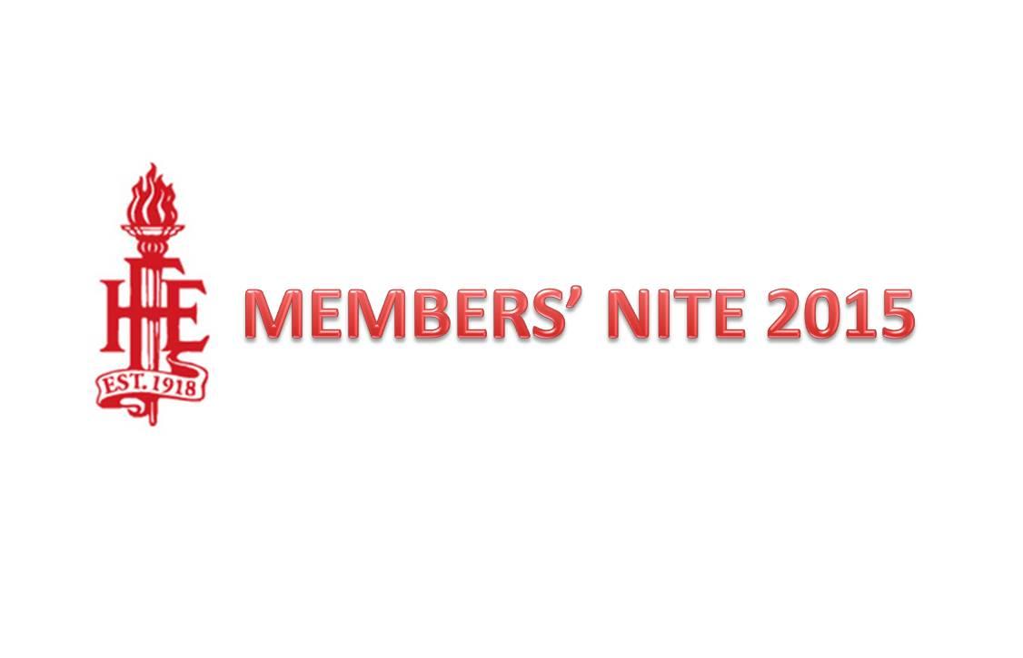 Members Nite 2015